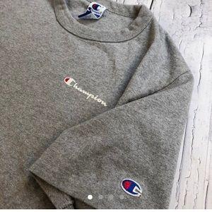 Vintage Champion t shirt spellout xl